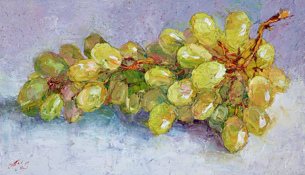 A Bunch of White Grapes III